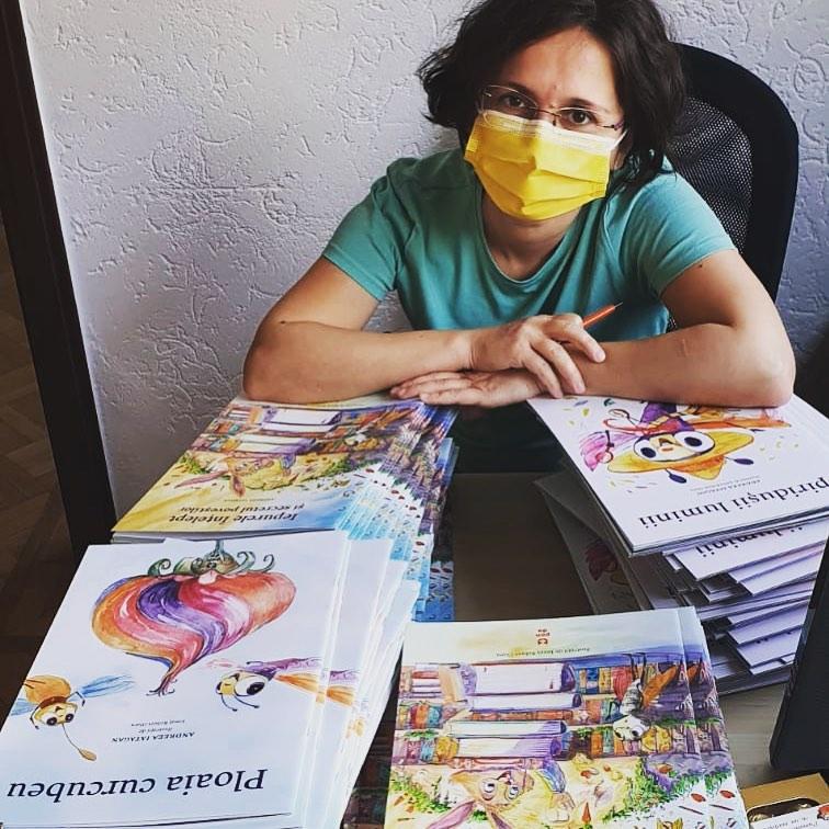 cărți pentru copii cu autograf Andreea Iatagan